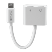 4Smarts Audio and Charging Splitter Lightning to 2x Lightning Wit