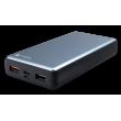 4Smarts Power Bank VoltHub 20000 mAh Power Delivery 18W & QC3.0 - Zwart & Grijs