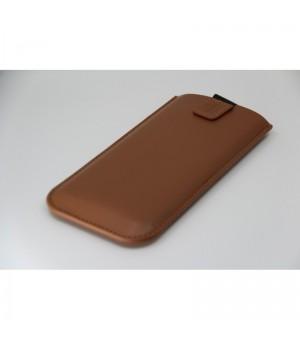 Rico Vitello Universele Insteek Hoesje Voor Smartphone Bruin