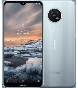 Nokia 7.2 64GB Zilver