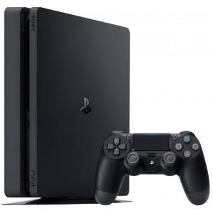 Sony Playstation 4 Slim Console Plus 2de Controller 1TB PS4 Zwart