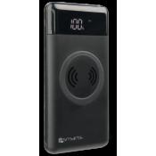4Smarts Inductive Power Bank VoltHub Qi 10000mAh met Draadloos Opladen Zwart