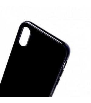 Rico Vitello Silicone hoesje Voor iPhone X/XS Zwart