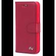 Rico Vitello Wallet Case voor iPhone X - Rood