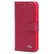 Rico Vitello Genuine Leather Wallet iPhone X / XS Rood