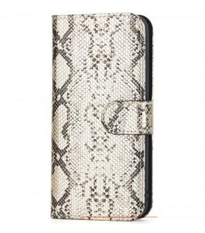 Rico Vitello Wallet Case iPhone 7 Plus / 8 Plus - Slangenprint Getint