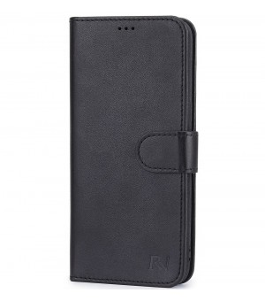 Rico Vitello Wallet Case Galaxy S10 Zwart