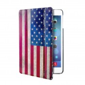 Puro iPad Air Slim Case Zeta with Stand Up USA vlag