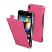 Muvit Slim Case Huawei Ascend P6 Pink + Screenprotector