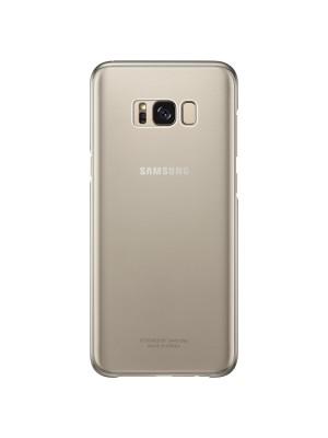 Samsung Galaxy S8 Plus Clear Cover - Goud
