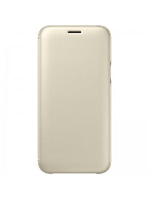 Samsung Galaxy J7 (2017)  Wallet Cover - Goud