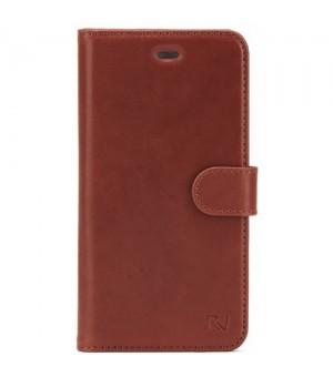 Rico Vitello Genuine Leather Wallet iPhone 5/5S/SE Bruin