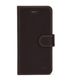 Rico Vitello Genuine Leather Wallet Samsung Galaxy S8 Dark brown