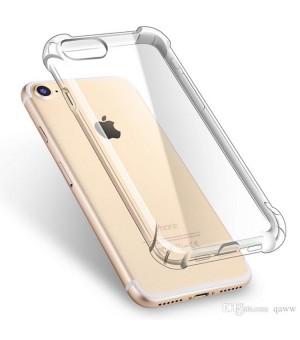 PM - Silicone Case iPhone 8 / 7 Anti Shock - Clear