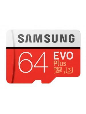 Samsung EVO Plus 64GB MicroSDHC-kaart Class 10