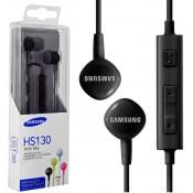 Samsung Stereo Headset Met Microfoon HS130 - Zwart