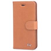 Rico Vitello Genuine Leather Wallet Samsung S6 - Brown