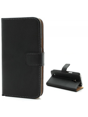 PH Honor 6 Leather Wallet Case  - Black