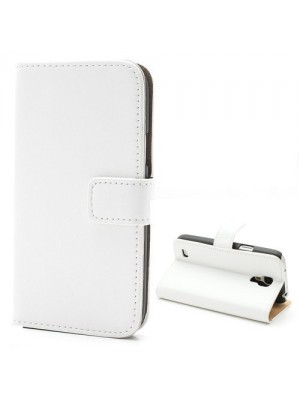 PH Honor 6 Leather Wallet Case  - White