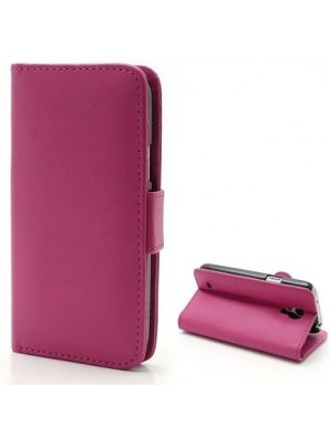 PH Honor 6 Leather Wallet Case  - Pink