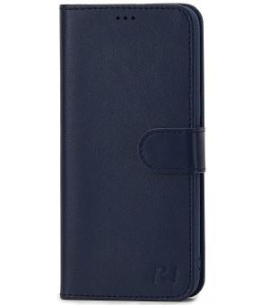 Rico Vitello Wallet Case voor iPhone X / XS Donker Blauw