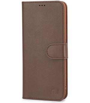 Rico Vitello Wallet Case voor iPhone 6 Plus/6s Plus - Bruin