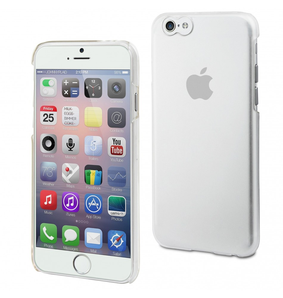 Muvit iPhone 5/5S Clear back case - Transparant  Iphone
