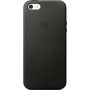 Apple Leren hoesje iPhone SE/5/5S - Zwart