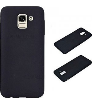 PM - Siliconen Case Galaxy J6 (2018) - Zwart