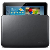 Samsung Galaxy Note 10.1 Leather Pouch - Black