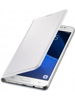 Samsung Galaxy J5 (2016) EF-WJ510PW Flip Wallet - White