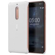 Nokia Carbon Fibre Case White - Nokia 5