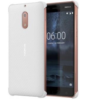Nokia 6 Carbon Fibre Case Wit
