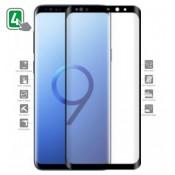 4Smarts Second Glass Galaxy S9 Zwart Frame