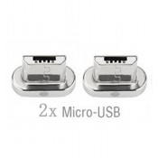 4smarts Magnetic Micro USB Connector pak van twee