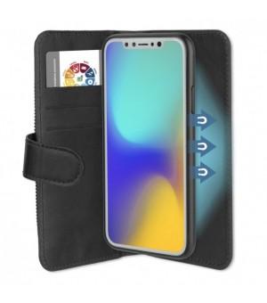 4smarts 2in1 Flip Wallet en Car Case for iPhone X / XS Zwart