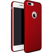 Buenos - Silicone Case iPhone 8 / 7 Plus - Bordeaux rood