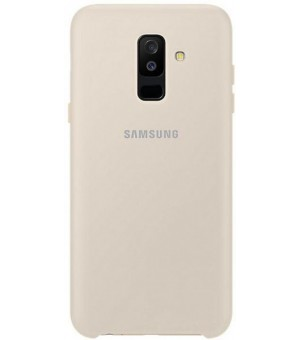 Samsung Galaxy A6 Plus (2018) Dual Layer Cover - Goud