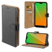4smarts Premium Wallet Case URBAN Huawei P20 - Zwart