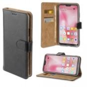 4smarts Premium Wallet Case URBAN Huawei P20 Lite Zwart