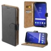 4smarts Premium Wallet Case URBAN Galaxy S9 Zwart