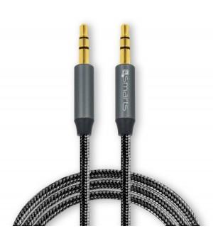 4smarts 3,5mm Stereo audiokabel SoundCord 1m Zwart