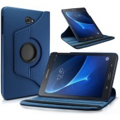 PM - 360 Rotating Stand & Case Galaxy Tab A (T580/T585) - Donker Blauw