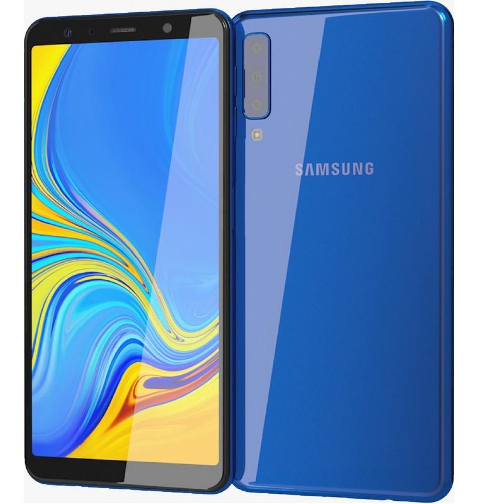 Samsung Galaxy A7 2018 64GB Dual Sim SM-A750 Blauw a083ea89cfb