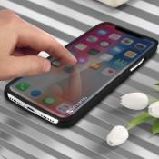 4Smarts Interactieve Kyoto Flip Case voor Apple iPhone X / iPhone XS Zwart