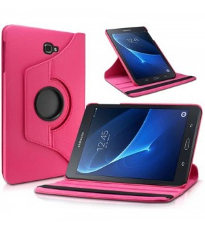 PM - 360 Rotating Stand & Case Galaxy A 2018 T590 / T595 Roze