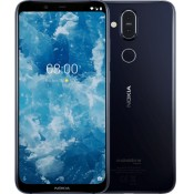 Nokia 8.1 64GB Dualsim  blauw/zilver