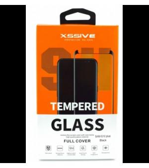 9H Screenprotector Tempered Glass Galaxy S20 Ultra zwart