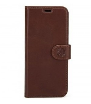 Rico Vitello Genuine Leather Wallet Galaxy S10 Donker Bruin