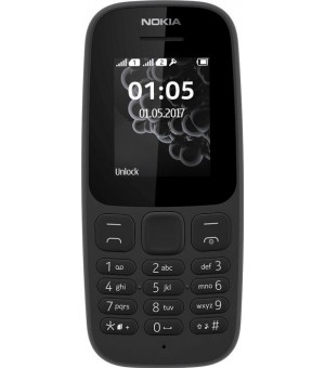 Nokia 105 Dual Sim Zwart